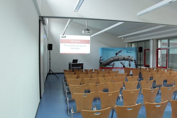 Alles bereit - die IT Security Konferenz kann beginnen