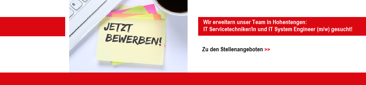IT Servicetechniker System Engineer Job Angebot Stelle
